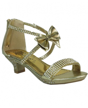Girls Gold Shoes, Special Occasion, Wedding, Prom