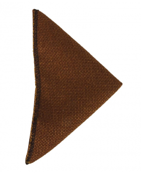 Mens & Boys Cinnamon Brown Tweed Pocket Handkerchief