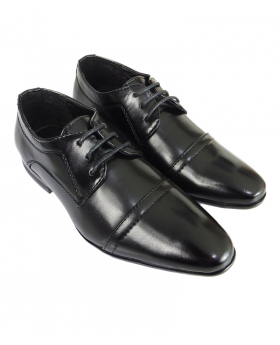 Romano Vianni Lace Up Black Shoes