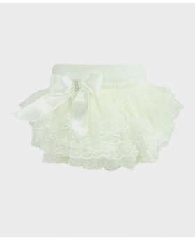 Baby Girl Lace Knickers in ivory Details picture