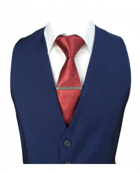 Men's Royal Blue  Formal Waistcoat