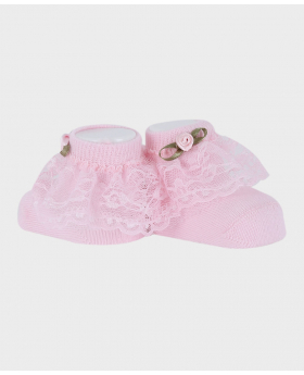 Baby Girl  Sock Wedding Accessories Set Pair Picture
