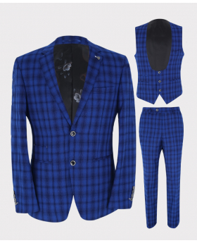 Blazer Jacket, Waistcoat and Trousers Picture