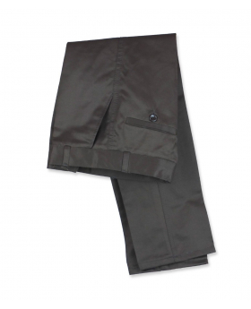 Folded View of the Slim Fit Boys Chino Trousers in Brown