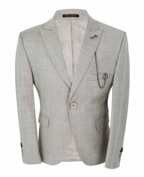 Boys Page Boy Communion Tailored Fit  Jacket front  picture