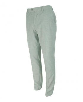 Men's Slim-Fit Formal Trousers in Light Grey side Picture
