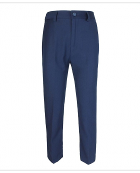 Flamingo Navy Blue Formal Trousers