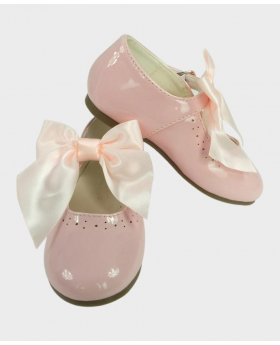 Flower Girls Pink Formal Occasion Wedding Shoe