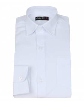 Pageboys Classic Long Sleeve White Shirt