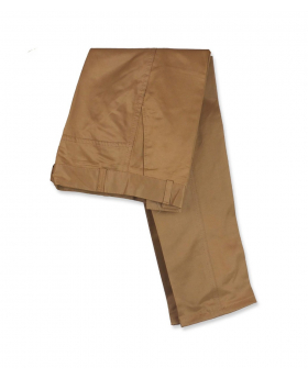 Folded view of the Designer Slim Fit Boys Mustard Chino Trousers