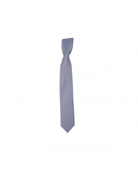 Boys Plaid Neckties Kids Formal Checkered Ties In Navy And White