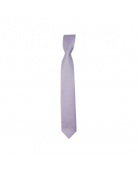 Boys Plaid Neckties Kids Formal Checkered Ties In Violet And White