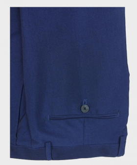 Folded view of the Men's Slim Fit Royal Blue  Formal Trousers