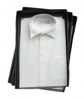 Page boys Ivory Wing Collar Shirt