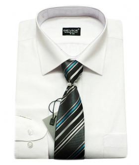 Page Boy White Shirt and Tie Set