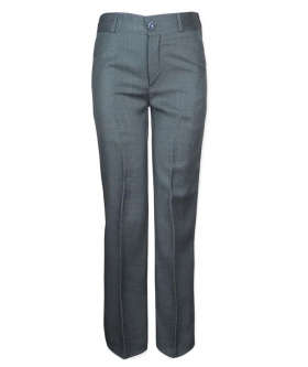 Boys Grey Formal Suit Trousers