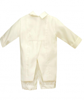 Baby Boys All In One Ivory Christening Suit by Romano