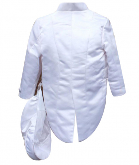 Baby Boys 6 Piece White Christening Suit Baptism Outfit 0 to 24 Months