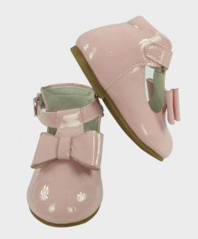 Flower Girls Pink Formal Communion Toddler Ankle Boots Pair