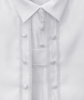 Romano Vianni Baby Boys All In One Christening Suit in White