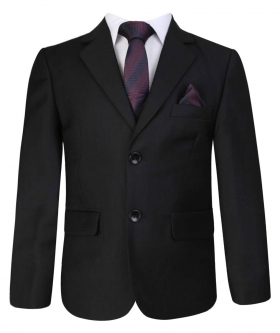 Boys All in One Formal Black Suit