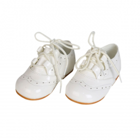 Baby Boys Brogues - Ivory Shoes