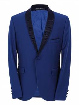 Boys Page Boy Tuxedo Slim Fit jacket  front picture