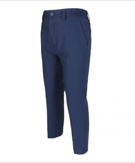 Flamingo Navy Blue Formal Suit Trousers-Side