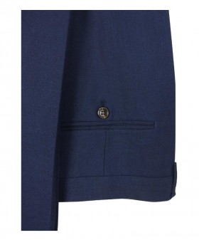 Men Formal Trousers Tailored  Fit in Navy Blue