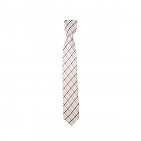 Boys Plaid Neckties Kids Formal Checkered Ties In Pink And Black