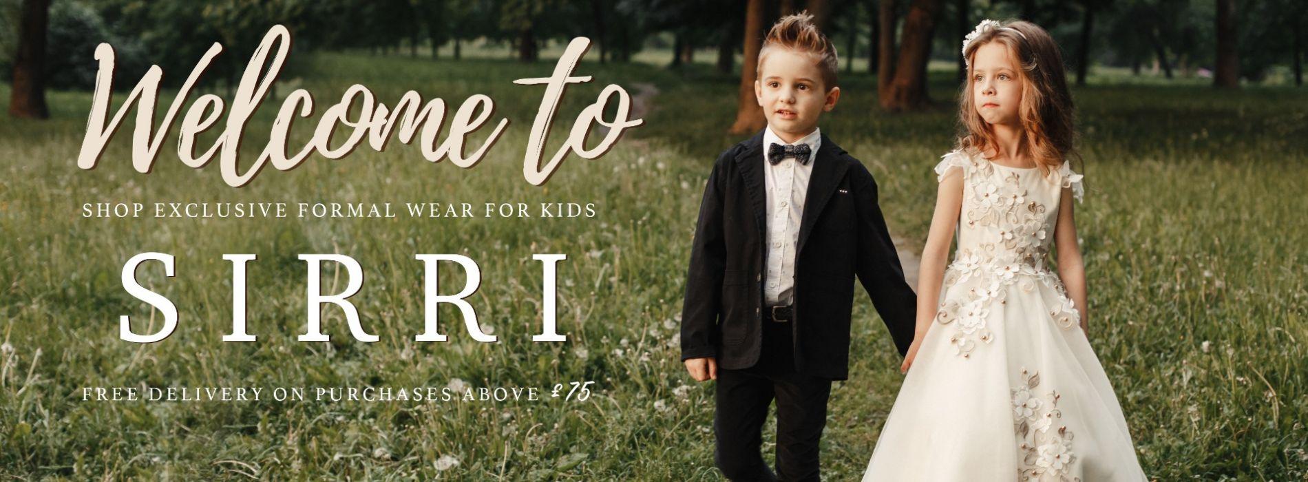 a0e2832abba66 Boys Suits   Girls Bridesmaid Dresses   Boys & Girls Formal Shoes ...